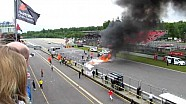 Super Trofeo Brno crash aftermath