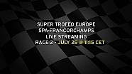 Live - Lamborghini Super Trofeo Europe Spa-Francorchamps Race 2