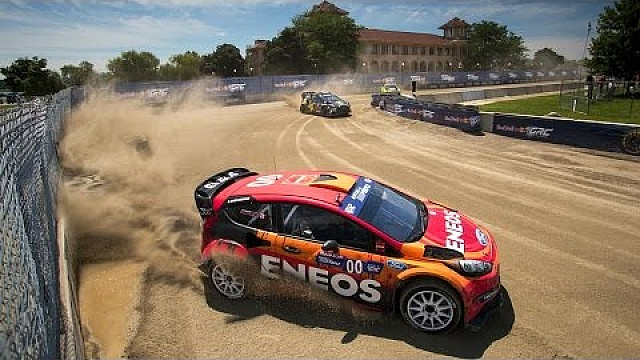 Burning Rubber in Detroit - Red Bull Global Rallycross Recap