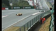 Accidente Sebastian Vettel  WSR 3.5 en Spa en 2007