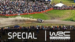 WRC - Neste Oil Rally Finland 2015: Heli & Crash Clip