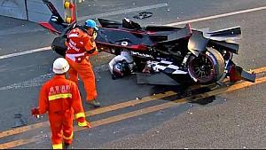 ترتيب أكبر ثلاثة حوادث في الموسم الأوّل لسلسلة فورمولا إي