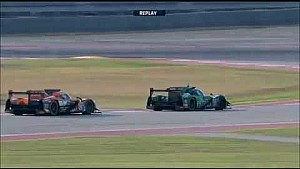 Battle for the LMP2 second place between G-Drive and Tequila Patrón ESM​