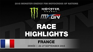 Motocross of Nations 2015 - Ernée, France - Race highlights