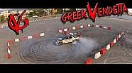 Gymkhana 7 City Drift Race - KTM vs SUPRA vs EVO 9 vs ENERGY KART vs KORRES P4: Greek Vendetta