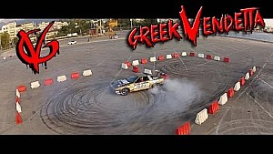 Gymkhana 7 City Drift Race - KTM vs SUPRA vs EVO 9 vs ENERGY KART vs KORRES P4: Greek Vendetta