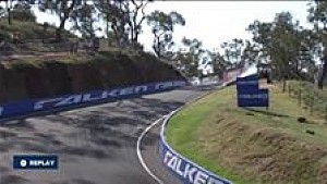 Chaz Mostert involved in a monster qualifying crash at Bathurst 1000