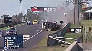 Aussie Racing Cars巴瑟斯特第二回合Damien Flack事故