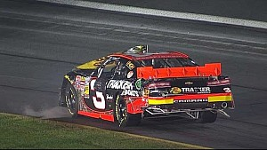 Ty Dillon crashes hard with 6 others at Charlotte
