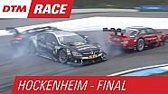 Carambolage à l'épingle durant la manche finale du DTM 2015 à Hockenheim