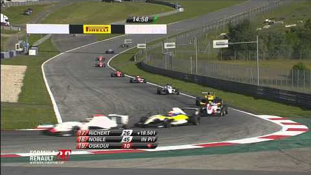 Race 1 Red Bull Ring - Formula Renault 2.0 Northern European Cup 2015