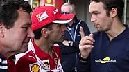 Мировой финал Ferrari. Интервью Марка Жене