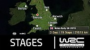 Wales Rally GB 2015: The Stages (19 Stages/ 310.15 km)