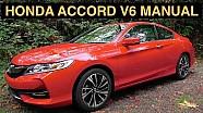 2016 Honda Accord V6 Manual 2DR EX-L - Review & Test Drive