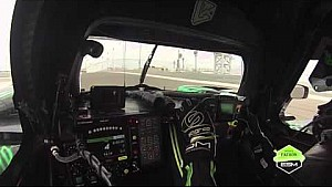 Bahrain International Circuit on-board lap with Tequila Patrón ESM driver David Heinemeier Hansson