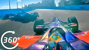 360° Video: HUGE Nelson Piquet Crash in Punta del Este