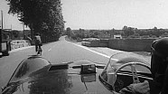 Onboard in Le Mans 1956