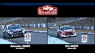 Rally Monte Carlo Kris Meeke vs Sébastien Ogier