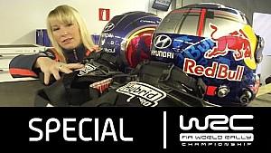 WRC-Logistik mit Hyundai