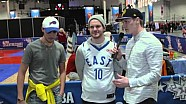 Josef Newgarden: with The People of NBA All-Star Weekend