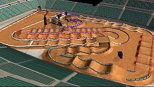 2016 Monster Energy Supercross - Arlington Virtual Lap