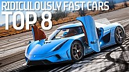 Top 8 Ridiculously Fast Hybrid Cars - Formula E