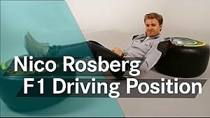 Die Sitzposition eines F1-Fahrers