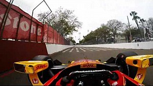 Pegue carona com Ryan Hunter-Reay em St. Petersburg