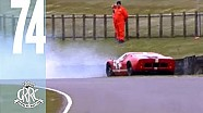 GT40's WILD battle and spin out at Goodwood Members' Meeting