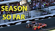 Season so far: Great racing, resilient rookies and a recharged Dillon