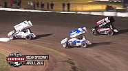 Highlights: World of Outlaws Craftsman Sprint Cars Ocean Speedway April 1st, 2016