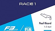 F3 Europe - Paul Ricard 2016 - Course 1