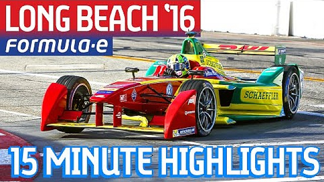 Extended Highlights: Long Beach ePrix 2016 - Formula E