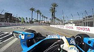 Visor Cam: Marco Andretti At The Toyota Grand Prix of Long Beach