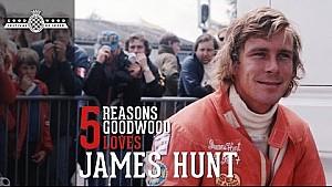 Goodwood feiert James Hunt