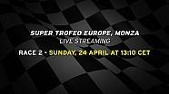 Lamborghini Super Trofeo Europe 2016, Monza - Live streaming Race 2