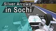 En iyi anlar: Mercedes F1 Rusya GP Olaylar