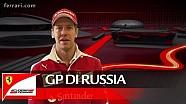 Il GP di Russia con Sebastian Vettel - Scuderia Ferrari 2016