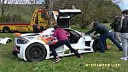 Gumpert Apollo crasht op eerste dag Gumball 3000
