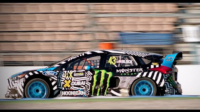 43 Seconds With Ken Block--FIA World Rallycross Hockenheim, Germany