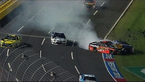 All-Star-Race: Crash, Tony Stewart