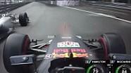 Ricciardo'nun Hamilton'a kızdığı an