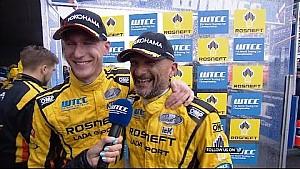 Gabriele Tarquini wins OPENING RACE in Russia