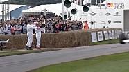 古德伍德速度节简森·巴顿驾驶迈凯伦赛车