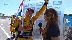 INTERVIEW - Tom Coronel wins OPENING RACE in Vila Real