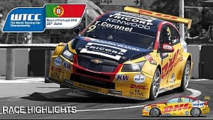Zege voor Tom Coronel in Vila Real, WTCC Portugal 2016