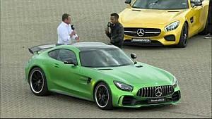 2018 Mercedes-AMG GT R - Tobias Moers en Lewis Hamilton