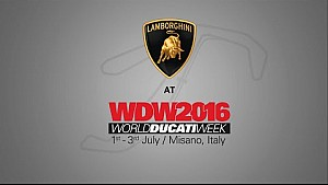 Lamborghini at World Ducati Week 2016
