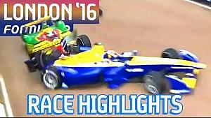 2016年フォーミュラE最終戦ロンドンePrix 決勝ハイライト