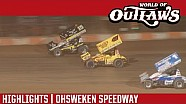 World of Outlaws Craftsman Sprint Cars Ohsweken Speedway July 26th, 2016 | HIGHLIGHTS